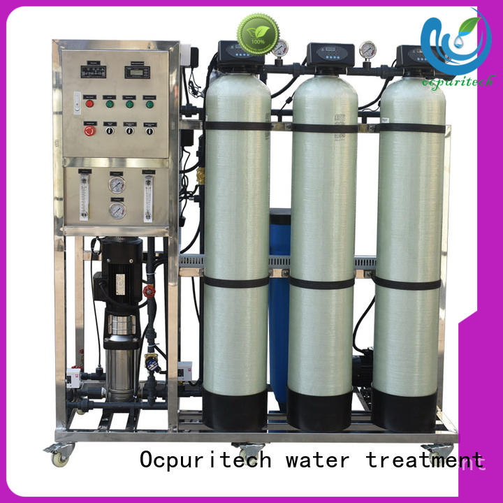 Water Purification Custom long service life ro machine Recovery 45%-70% Ocpuritech