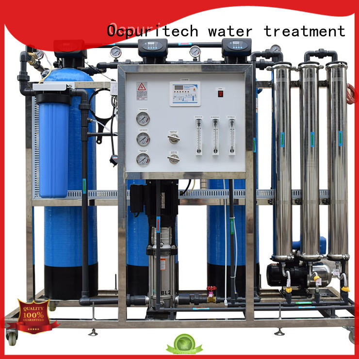 Ocpuritech Brand purification plant filter ro machine manufacture