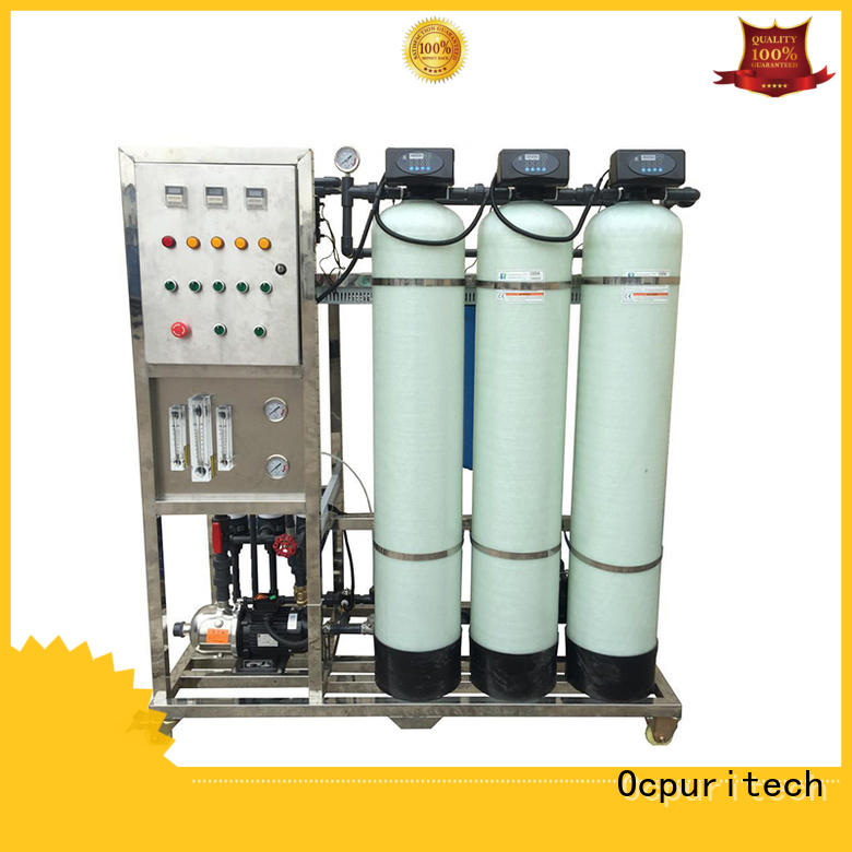 Ocpuritech ro ultra filtration system factory price for seawater