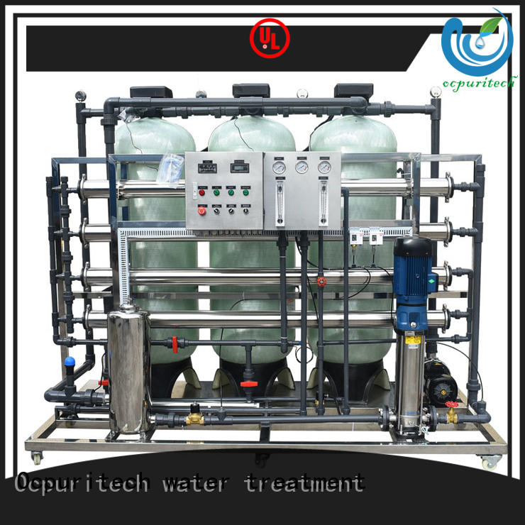 Ocpuritech water solution company supplier for food industry