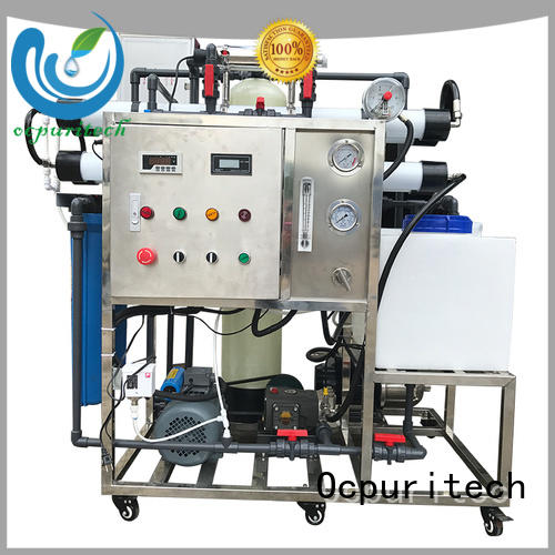 Ocpuritech 200lh water desalination manufacturer for industry