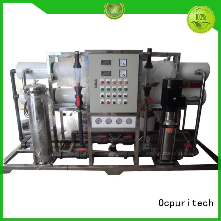 water popular Ocpuritech Brand ro water filter factory