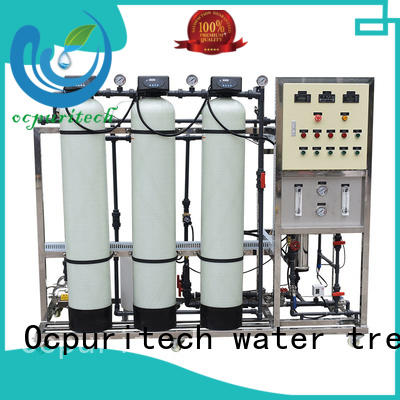 drinking ro machine 250 liter industrial Ocpuritech company