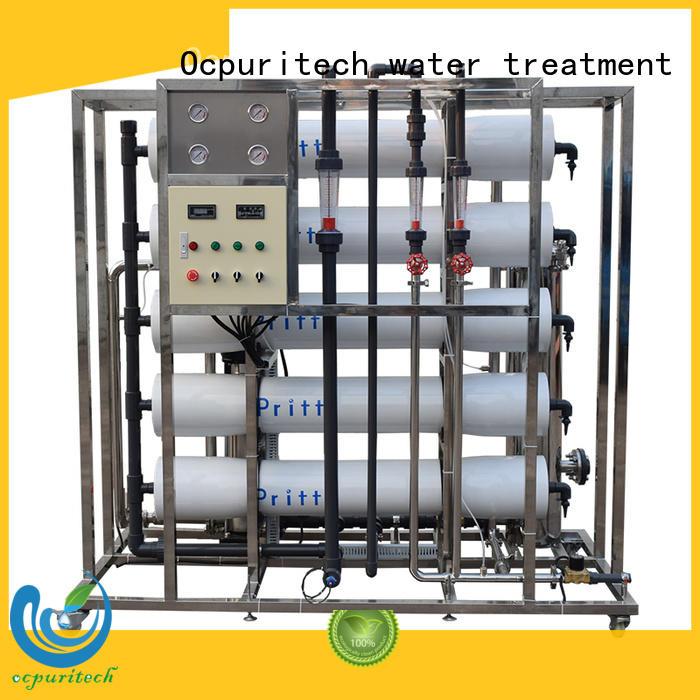 food company Desalination 96%-99% ro machine long service life CE Certificate Ocpuritech company