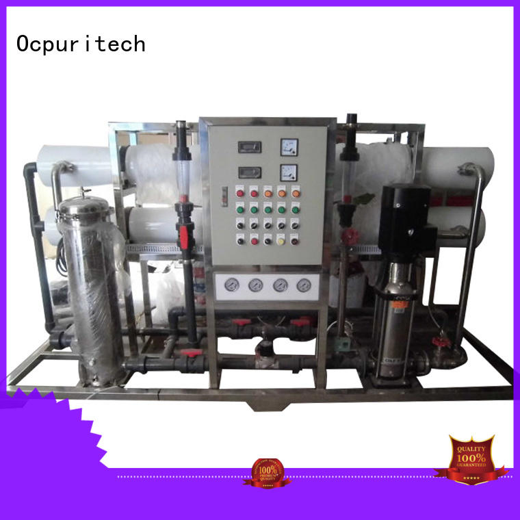 Ocpuritech equipment ro system personalized for seawater