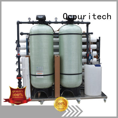hotel Water Purification Desalination 96%-99% Ocpuritech Brand ro water filter manufacture