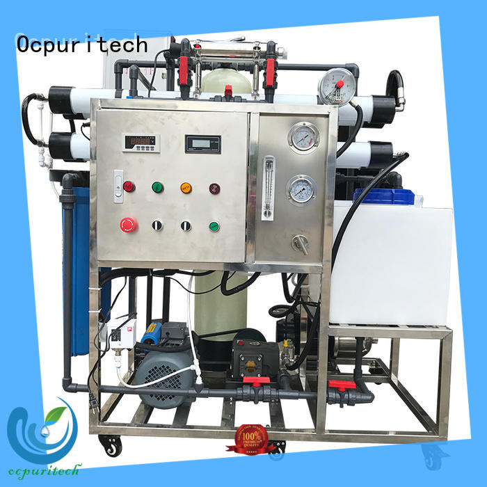 Ocpuritech efficient seawater desalination series for factory