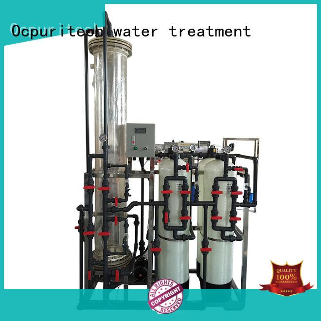 industrial di water filter design for medicine Ocpuritech