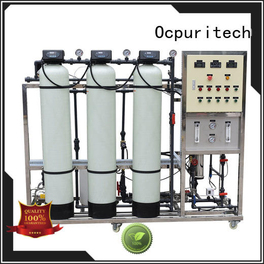 Water Purification school ro machine CE Certificate Ocpuritech Brand
