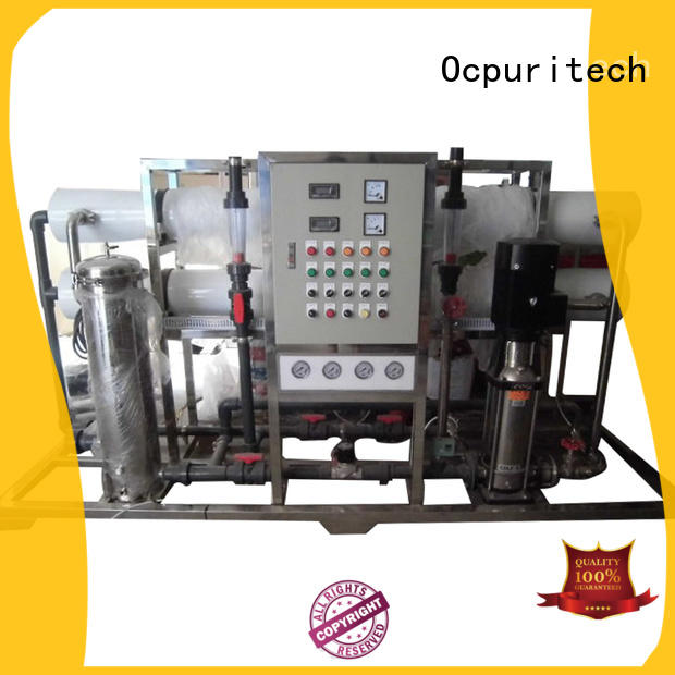 Ocpuritech reverse osmosis water system personalized for seawater