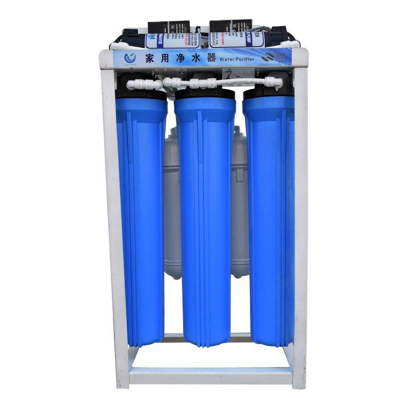 Water treatment 1:1 ratio of the product water to concentrate water 43*23.5*78CM Machine Size 100-800GPD Permeate water capacity Ocpuritech Brand commercial water filter supplier