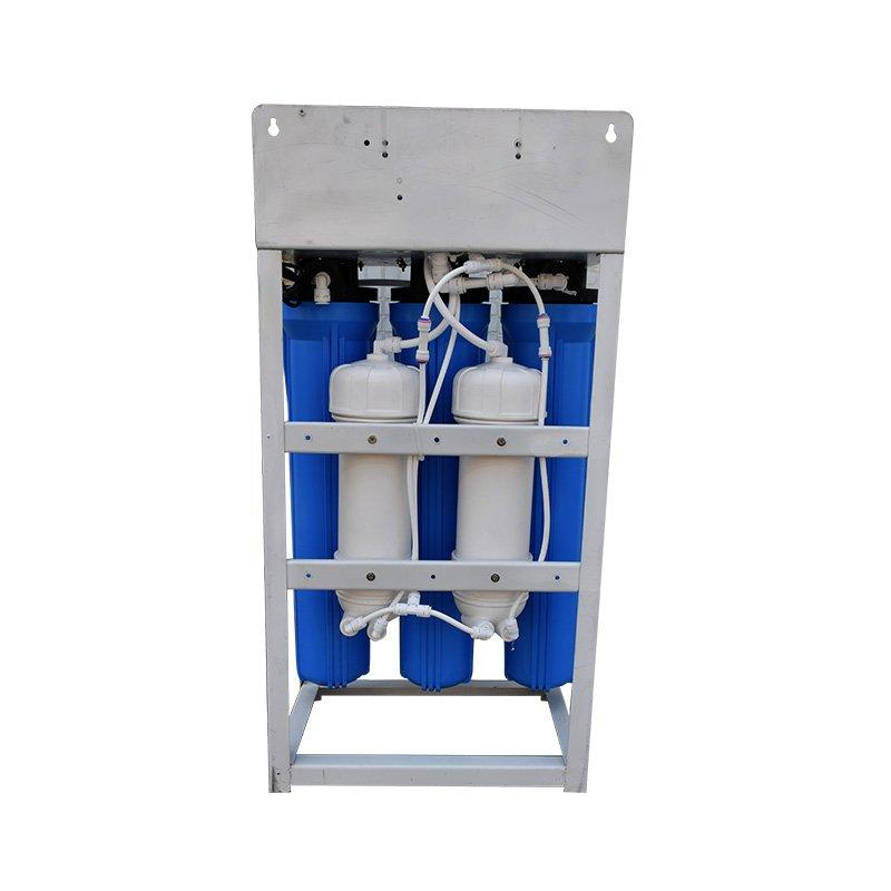 commercial reverse osmosis system 5 stages classic filters confriguration 43*23.5*78CM Machine Size popular capacity:200GPD, 300GPD, 600GPD and 800GPD Ocpuritech Brand company
