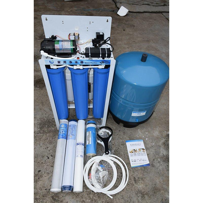 5 Stages Commercial Reverse Osmosis System Water Treatment Plant 400GPD