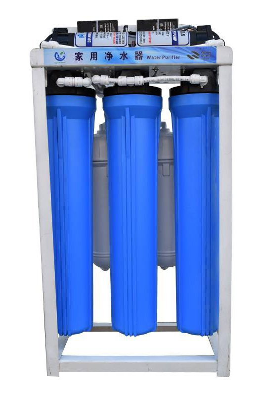 Ocpuritech-5 Stages Commercial Reverse Osmosis System Water Treatment Plant 400gpd-11