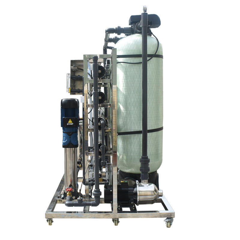 2000LPH 12000 GPD  industrial Reverse Osmosis RO membrane best  water treatment  purifier