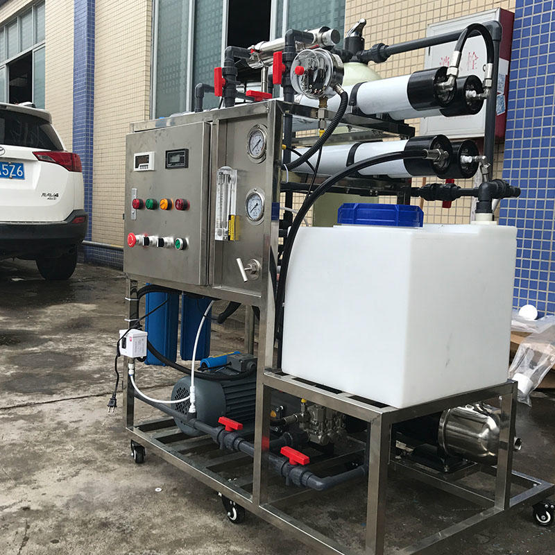 200L/H seawater desalination Reverse Osmosis Plant
