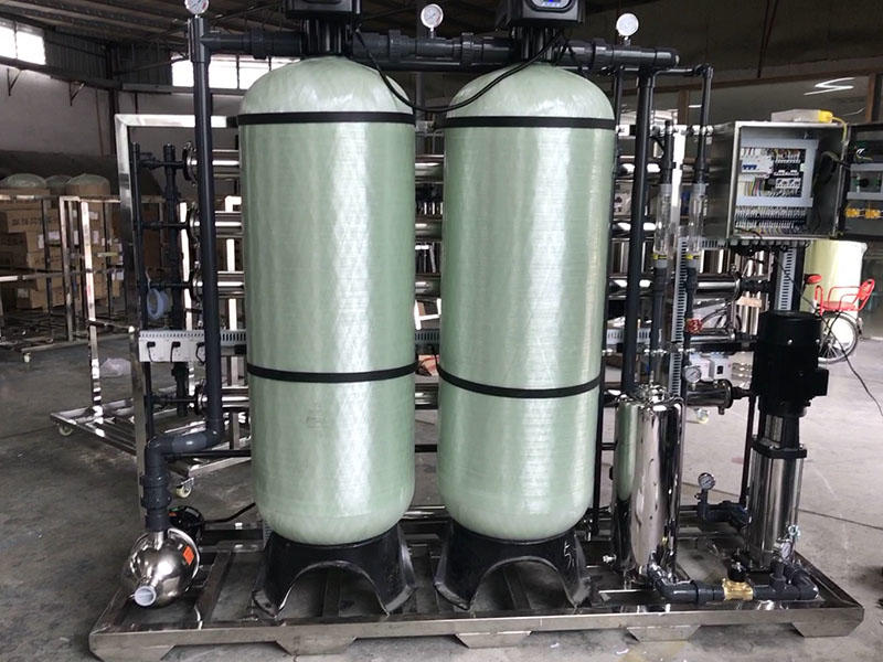 2000lph water purification plant