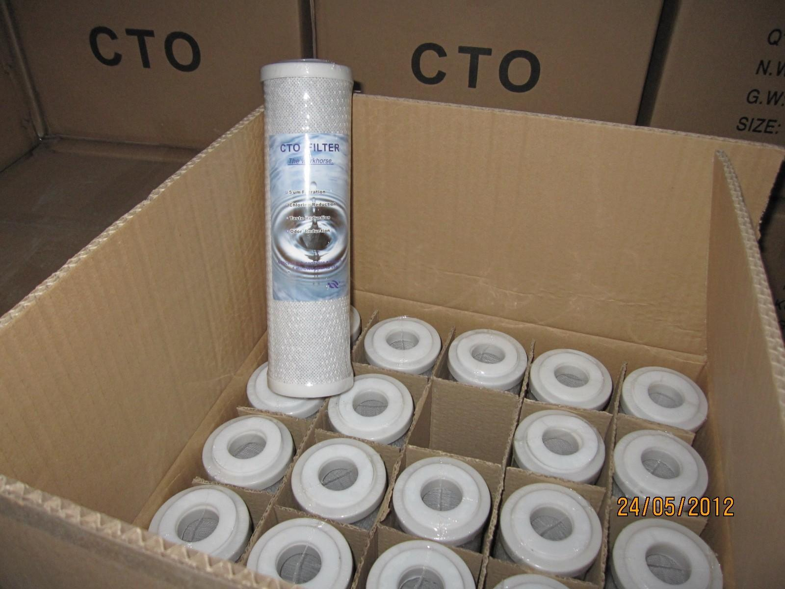 Ocpuritech Brand activated wire mesh filter cartridges melt factory