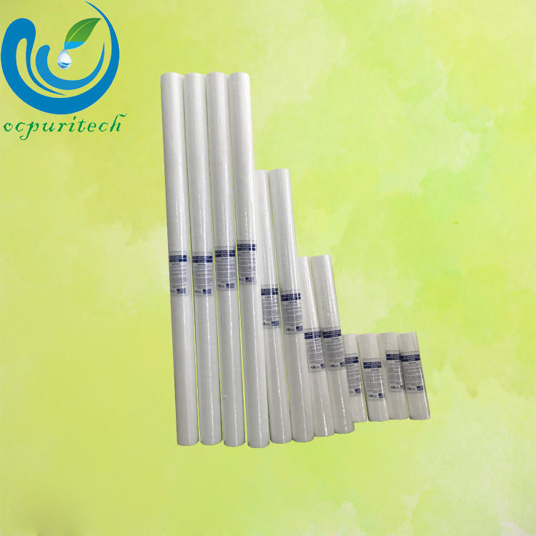 5 micron pp sediment melt blown water pleated filter cartridge
