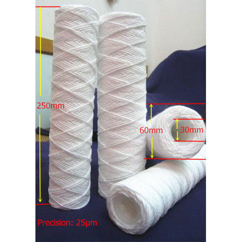 string wound water filter cartridge