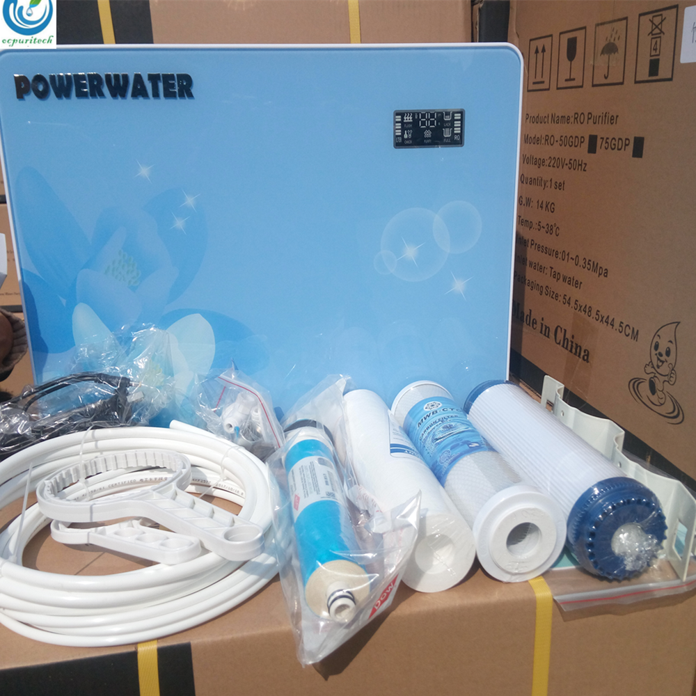 Ocpuritech Brand carbon activated water cartridge melt