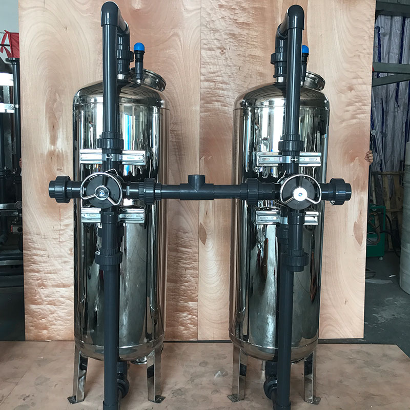 Ocpuritech-High strength SS 304 Mechanical Sand and carbon Filter