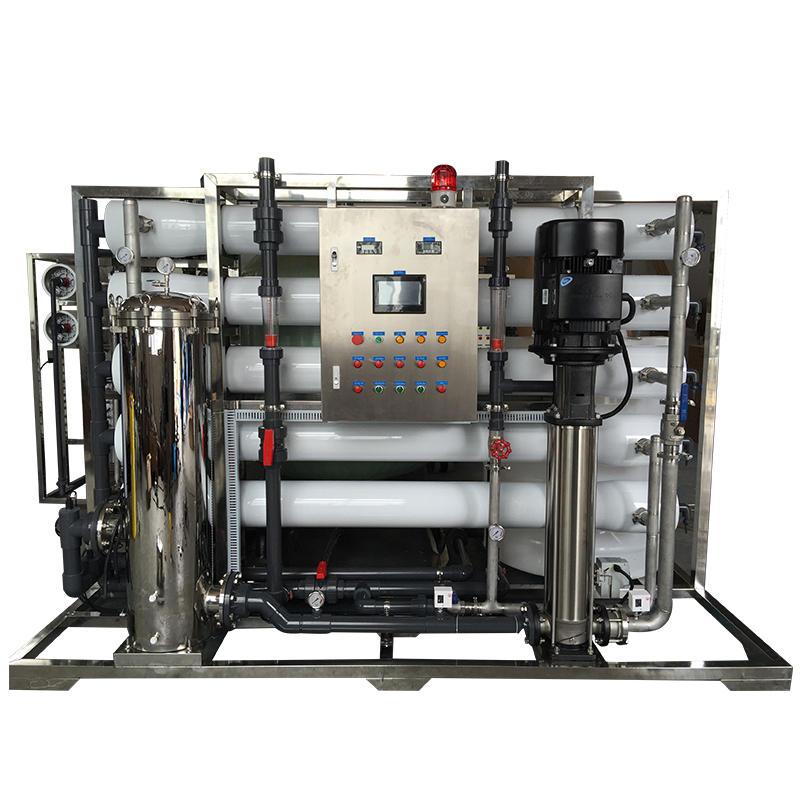 10T 60000 GPD  industrial Reverse Osmosis RO membrane water purifier price