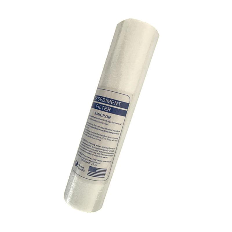 5 Micron pp sediment melt blown water filter cartridge