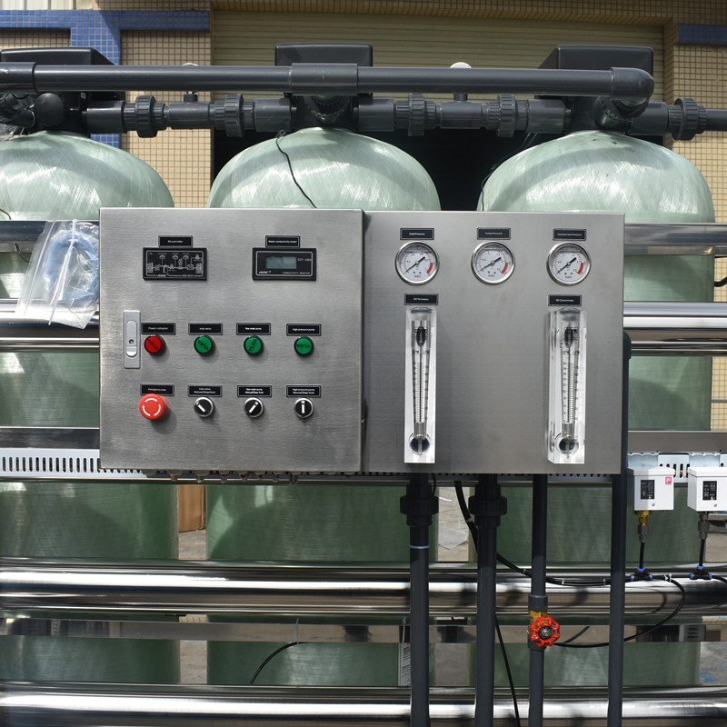 Ocpuritech-2000lph 12000 Gpd Industrial mobile water treatment plant-9