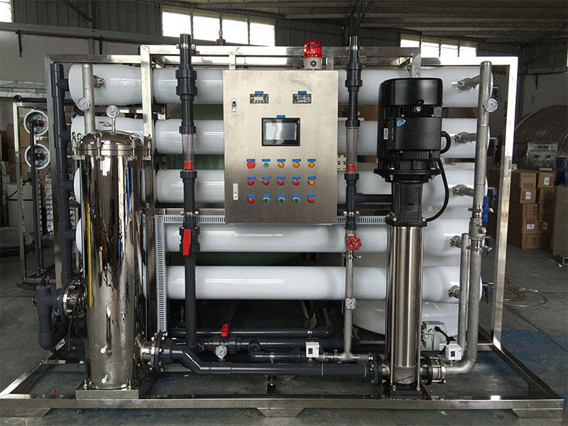 Ocpuritech-250lph Industrial Ro Water Reverse Osmosis System - Ocpuritech Water Treatment