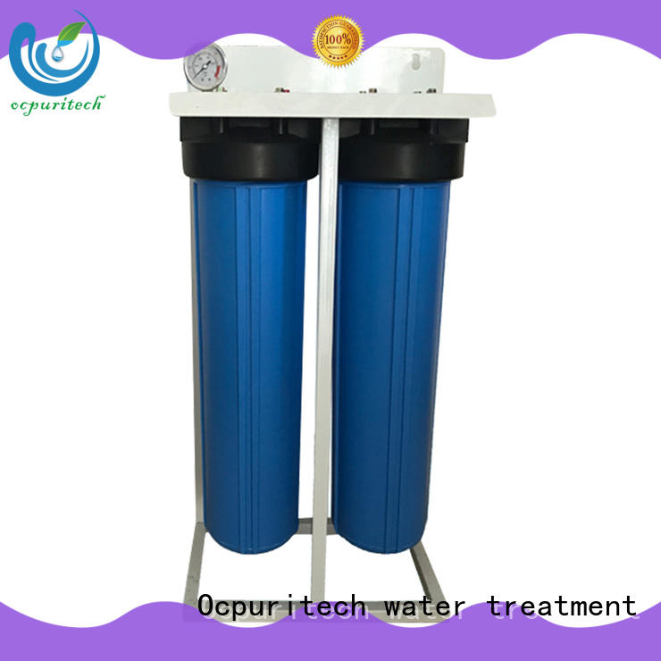 Blue color home filtration system thicker housing water treatment application Ocpuritech Brand