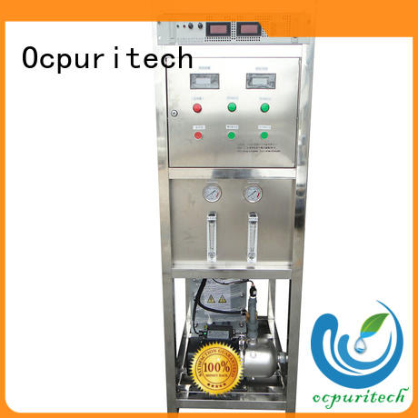 Ocpuritech Brand resistance up to 18 MΩ・cm Micro controller/PLC Control type custom edi water system