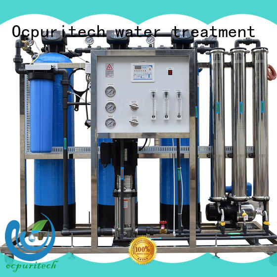 Ocpuritech industrial ro water plant wholesale for food industry