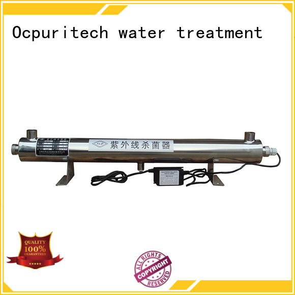 light ultraviolet water sterilizer ro for factory Ocpuritech
