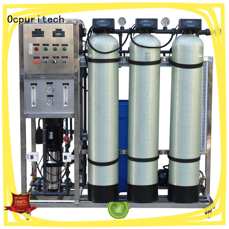 industrial well water filtration system supplier for food industry