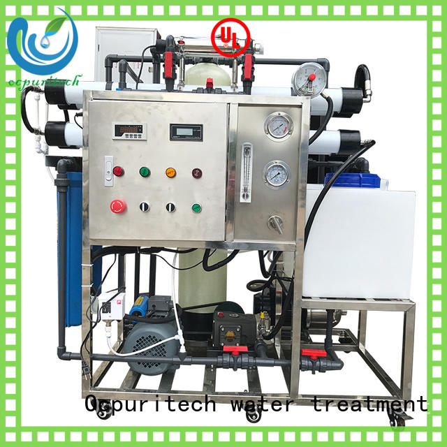 Ocpuritech efficient water desalination manufacturer for industry