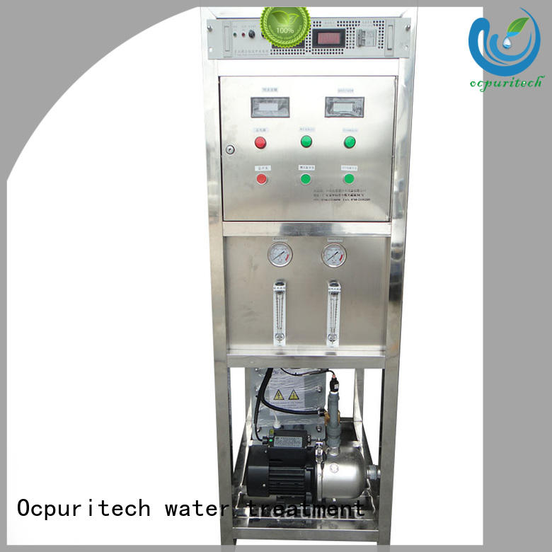 Ocpuritech Brand treatment deionized edi water system stainless steel