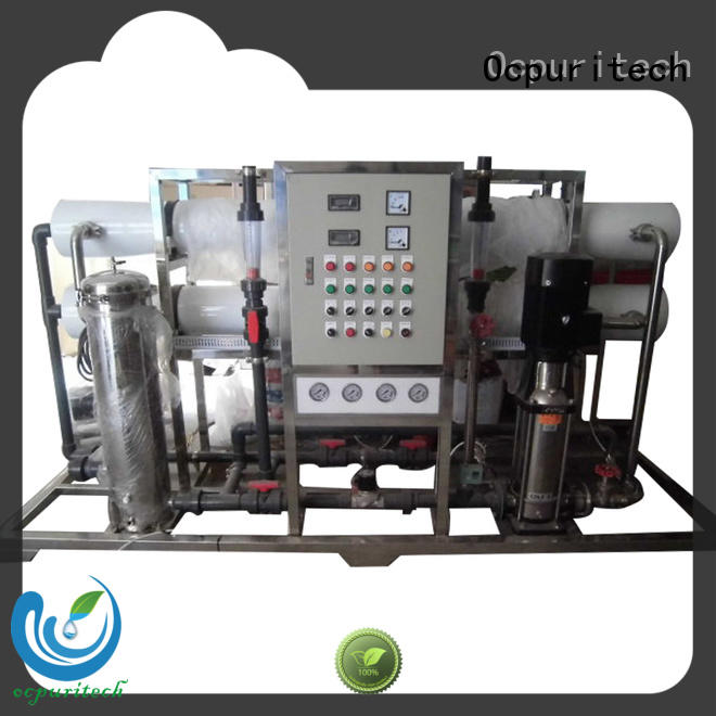 Ocpuritech commercial ro plant industrial wholesale for seawater