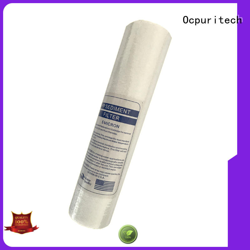 Ocpuritech whole house water filter cartridge design for business