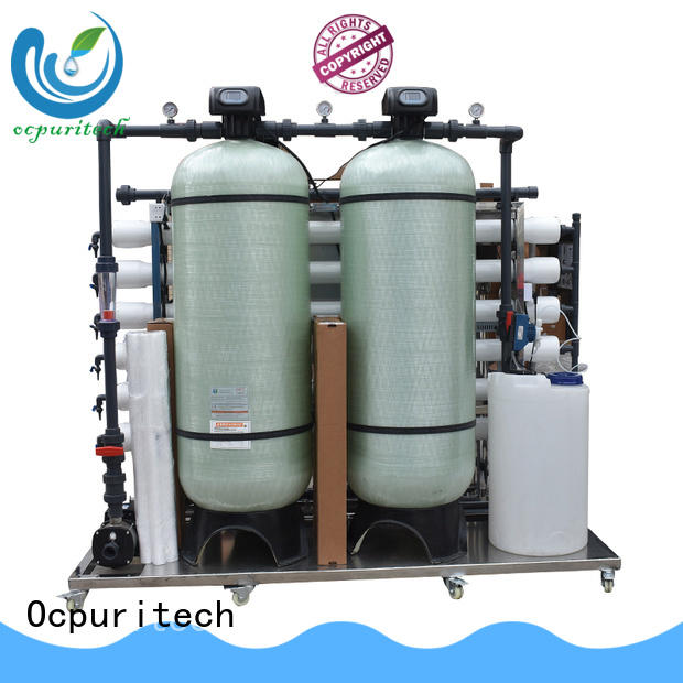 750lph reverse osmosis water filtration system 1000lph for food industry Ocpuritech
