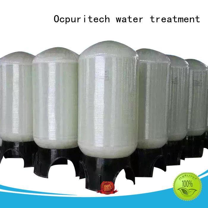 fiberglass water tank Natural, Blue, Grey and Black colors frp tank High strength company