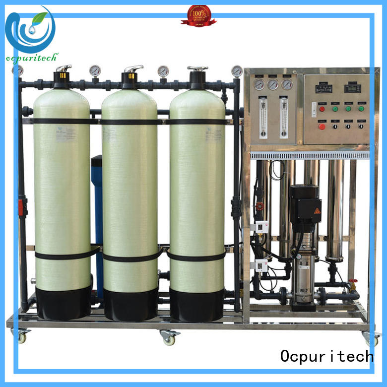 Ocpuritech stable ro plant price filter for seawater