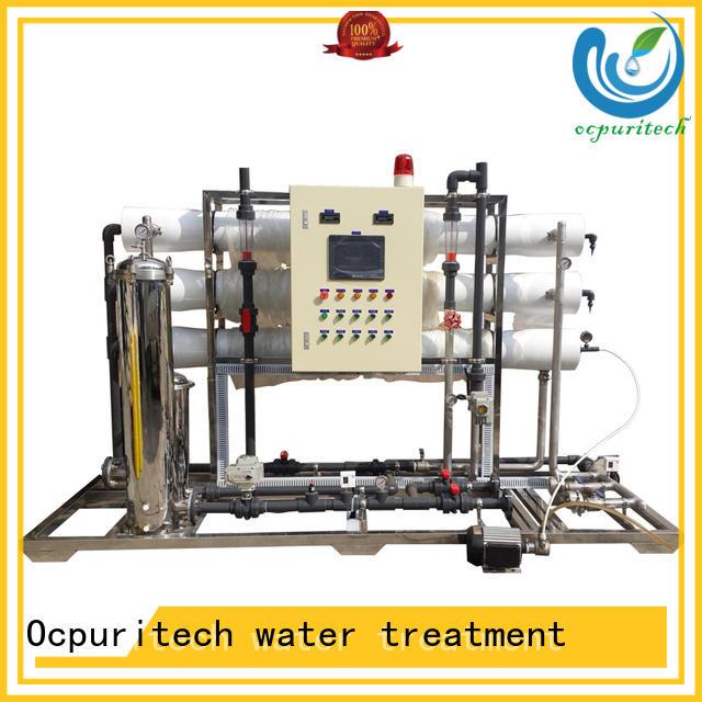 Ocpuritech Brand Dow RO Membrane hospital CNP pump ro water filter