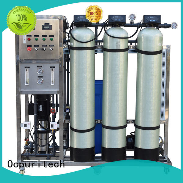 Ocpuritech Brand plant treatment filtration custom ro water filter