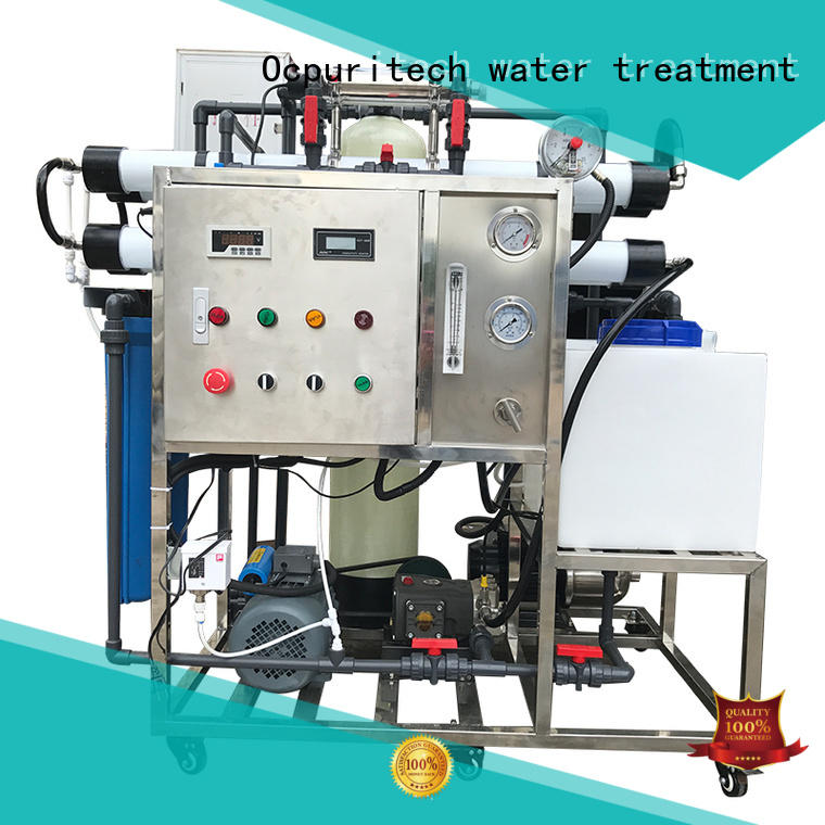 200lh seawater desalination equipment 250lph series for chemical industry