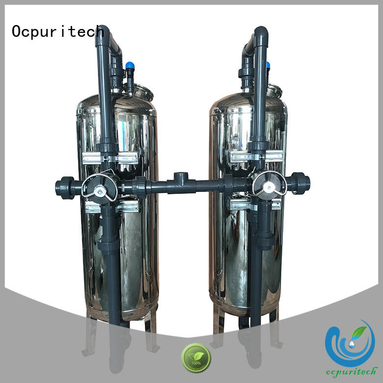 Ocpuritech Brand 4-38 ℃ Operating temperature 3-4tph Capacity pressure filtration
