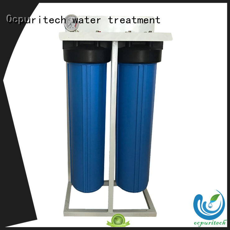 home filtration system Blue color PP material water filtration system water treatment application company