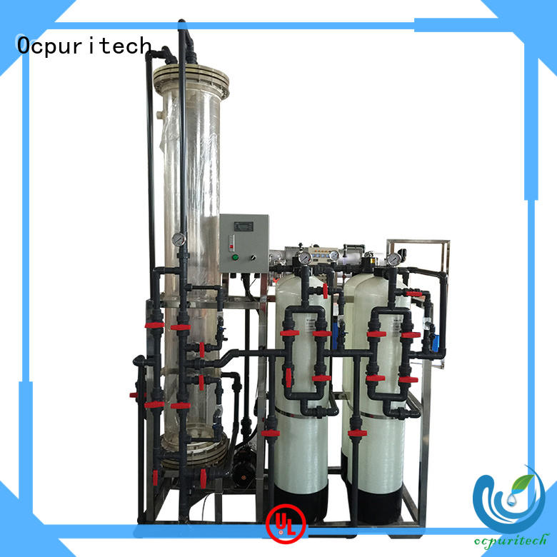 Ocpuritech deionized water system with good price for household
