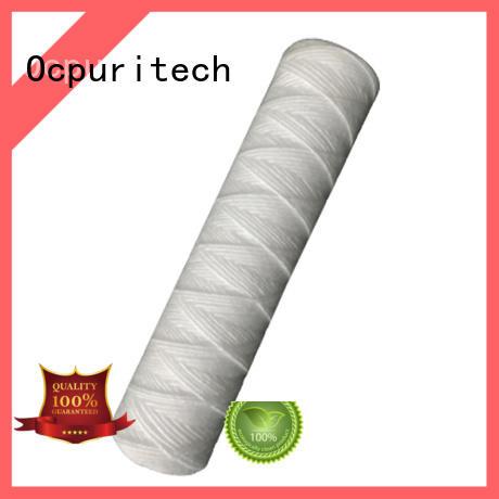 micron 5 micron water filter cartridge wound supplier Ocpuritech