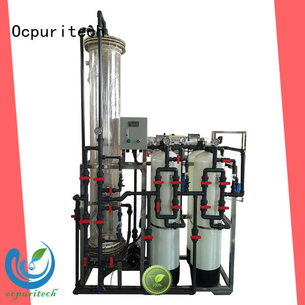 Ocpuritech resins deionized water system factory for business